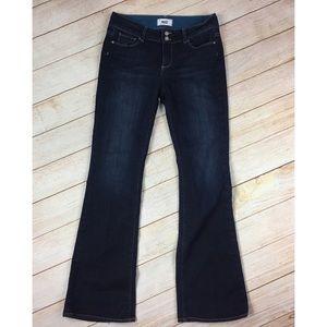 Paige Hidden Hills Dark Boot Cut Jeans 30x34